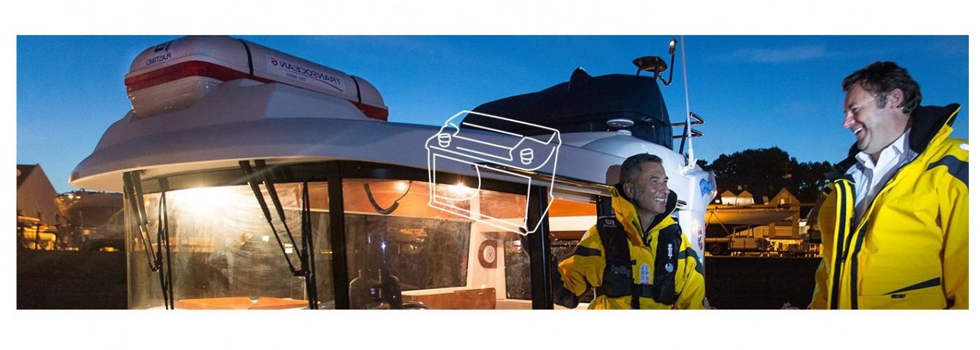 ook een groot assortiment elektro artikelen voor uw schip