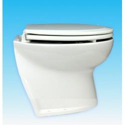 Jabsco De Luxe 14  elektr. toilet 12V, schuin met solenoid