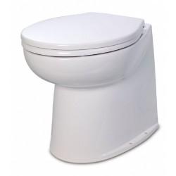 Jabsco De Luxe 17  elektr. toilet 12V, recht met spoelwaterpomp