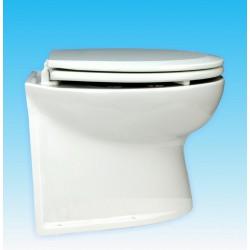 Jabsco De Luxe 14  elektr. toilet 12V, recht met spoelwaterpomp