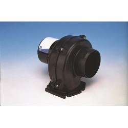 Jabsco Ventilator 12V 3 kuub-min 75 mm Flensmontage