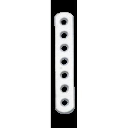 allpa RVS spanstrip (A), L= 80mm, gatmaat Ø6,0mm