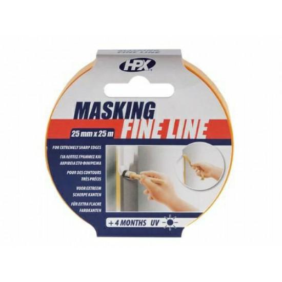 Masking tape 4400 - oranje 25mm x 25M