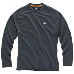 i2 Long Sleeved Tee Shirt XS Graphite