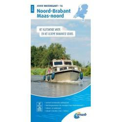 Waterkaart 16. Noord-Brabant-Maas-Noord