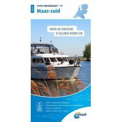 Waterkaart 17. Maas-Zuid