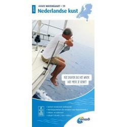 Waterkaart 19. Nederlandse Kust 2020