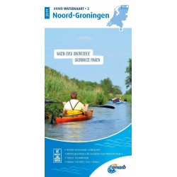 Waterkaart 2. Noord-Groningen