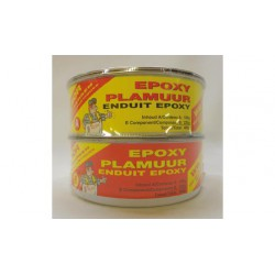 Epoxy fijnplamuur wit -set 1,00 kg