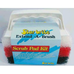 Scrub Pad Kit - Handgreep met 3 Pads
