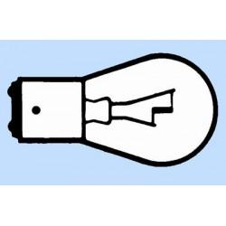 2 LAMP 12V 15W BA15D