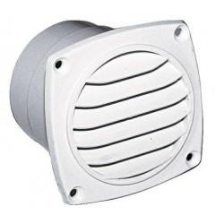 Ventilatierooster abs 92x92mm wit