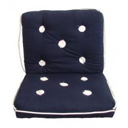 Marine cushion-double-BLUE