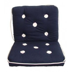 Marine cushion-triple-BLUE