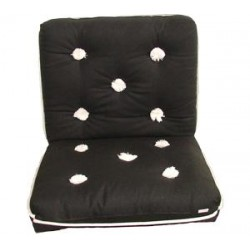Marine cushion-double-BLACK