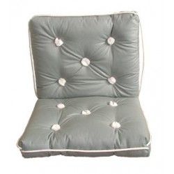 Marine cushion-double-GREY