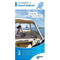 Waterkaart 10. Noord-Holland
