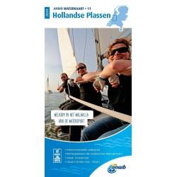 Waterkaart 11. Hollandse Plassen