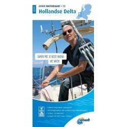 Waterkaart 12. Hollandse Delta
