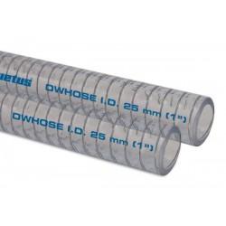 Drinkwaterslang- m. 30 x 38,4mm met stalen inlage