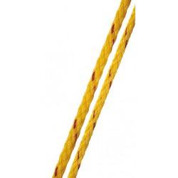 Waterski lijn 7mm geel