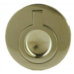 LUIKRING ROND (BLIND) MESSING