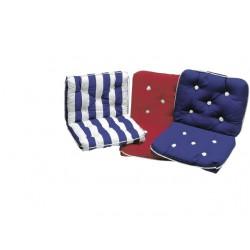 Marine cushion-double-BORDEAU