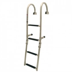LADDER KLAPBAAR 2 + 2 RVS 250 X 920 MM