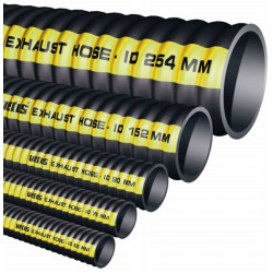 Meter uitlaatslang rubber, D 60mm