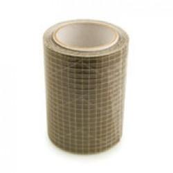 Kevlar zeilrep.tape 75mm x 1.5m. transp.