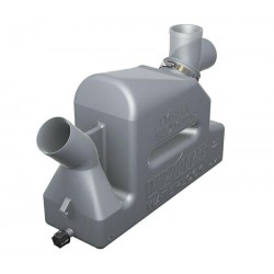 VETUS kunststof waterlock type LP45 met draaibare inlaat, 45 mm